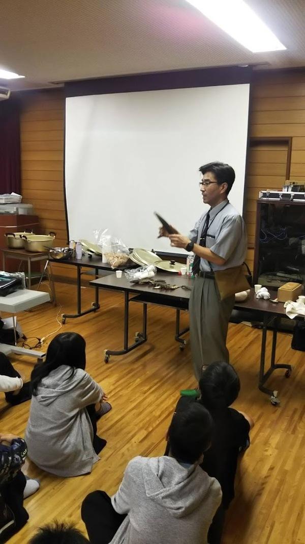 食育授業 豊中市立第二中学校 (令和元年 10月)
